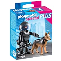 Playmobil 5369 Special Plus Tactical Police Dog Unit