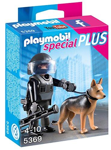 Playmobil Policía especial con perro (53690)