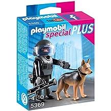 Playmobil - Policía especial con perro (53690)