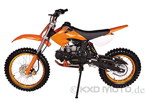 Topnethandel5!!!!! Dirtbike Gazelle LUFTGEKÜHLT / 125 cc 1 ZYLINDER, 4 TAKT 17/ 14 ZOLL DB607