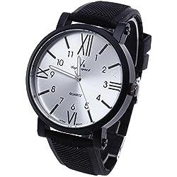 Facilla® Men's Watch Men's Watch Quartz Watch Men's Watch Silicone Sports Watch