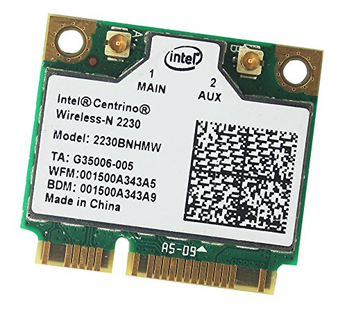 Intel Centrino Wireless-N 2230 Bluetooth Wifi 2230bnhmw Half Mini PCI-E Adapter Intel Wireless-n Adapter