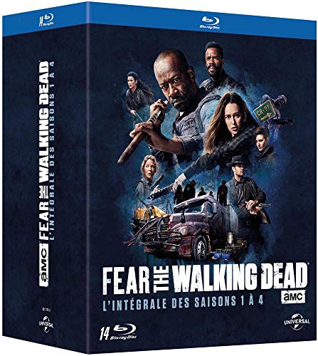 Fear The Walking Dead-L'intégrale des Saisons 1 à 4 [Blu-Ray]