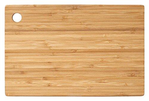 H&h 9290634 tagliere bamboo rettangolare cm34x24x1 utensili da cucina, bambù, legno