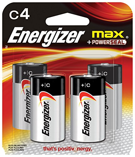 Energizer E93BP-4 Energizer Alkaline Battery-4CD C ALKALINE BATTERY