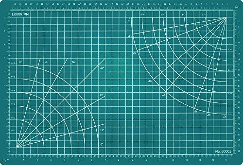 Microsoft Excel Schneidematte, selbstheilend, 3-1/2von 3-1/2, grün, grün, 12 x 18 Inch