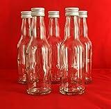 24 leere Glasflaschen 200 ml KRO Likörflaschen kleine Flaschen Schnapsflaschen Essigflaschen Ölflaschen 0,2 liter l zum selbst Abfüllen Essig/Öl von slkfactory Nr 250ML (24 Stück) -