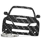 ACF Subaru Impreza WRX STI (~2014) | Schlüssel-Anhänger | Echtes Carbon | Geschenk-Idee | Tuning | Logo Emblem