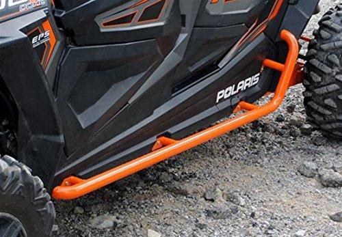 Preisvergleich Produktbild SuperATV Polaris RZR 4 900/1000 Rock Sliding Nerf Bars (Orange) by Super ATV