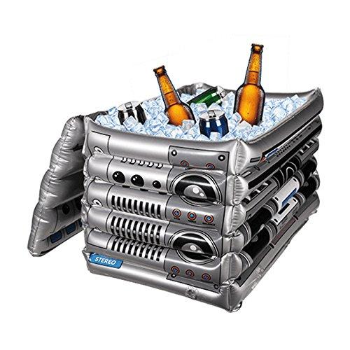 Boom Box der aufblasbare XL Getränkekühler 60 cm x 40 cm