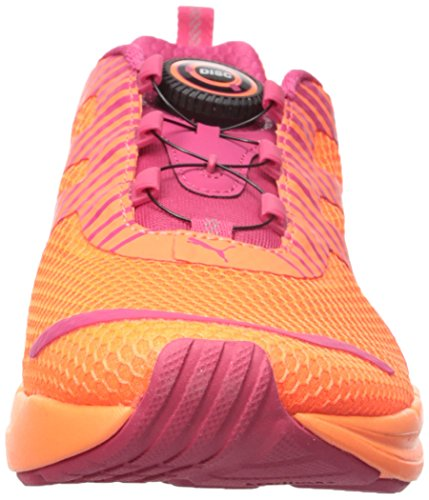 Puma Speed 300 S Disc Synthétique Baskets Fluo Peach-Rose Red-White
