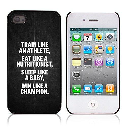 Graphic4You Life Teaches Us To Make Good Use of Time... Zitat Design Harte Hülle Case Tasche Schutzhülle für Apple iPhone 4 und 4S Design #5