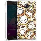 Samsung Galaxy A3 (2016) Housse Étui Protection Coque Cercles Motif Motif
