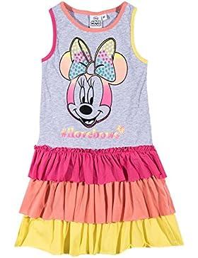 Disney Minnie Mädchen Kleid - grau