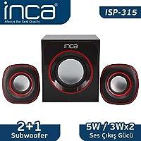 Inca ISP-315 Multimedia 2+1 Usb Ses Sistemi Speaker