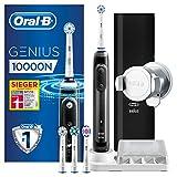 Oral-B Genius 10000N Elektrische Zahnbürste, mit Zahnfleischschutz-Assistent und Premium Lade-Reise-Etui, schwarz