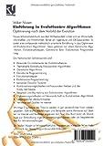 Image de Einführung in Evolutionäre Algorithmen: Optimierung Nach Dem Vorbild Der Evolution (Comp