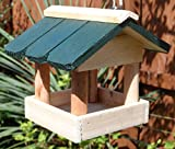 Hanging Garden Bird table - Bird Feeder Wooden