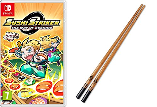 Sushi Striker: The Way Of Sushido + Palillos Sushi (Nintendo Switch)