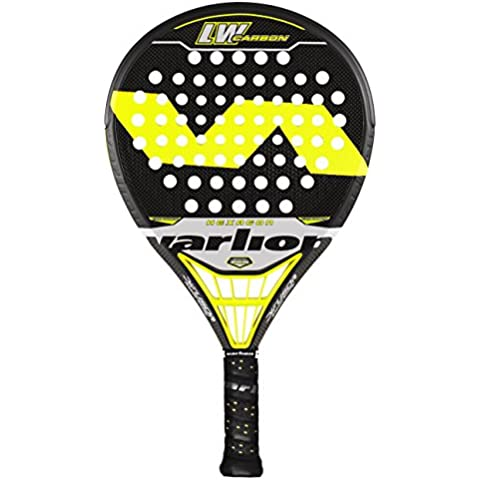 Varlion L.W. Carbon Hexagon Difusor - Pala de pádel unisex, color amarillo