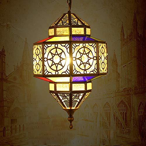 Pn&cc Marokkanische Kronleuchter Deckenleuchte Schatten, Kreative Nordische Moderne Wohnzimmer Kronleuchter Kunst Lampe Villa Schlafzimmer -