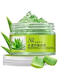 Weisy 100% NATURAL Gel D'Aloe Vera Hydratante Enlever Acne Masque de Nuit Reparation Soin Visage & Corps