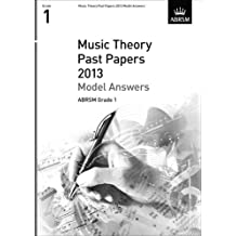 Music Theory Past Papers 2013 Model Answers, ABRSM Grade 1