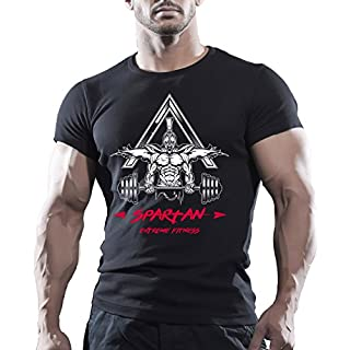 Arubas-uk Herren T-Shirt Schwarz Schwarz Gr. Medium, Schwarz - Schwarz