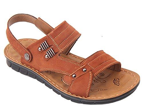 Herren Outdoor Jungen Leder Sandalen Schuhe Sport Dayiss 0N8Omwvn