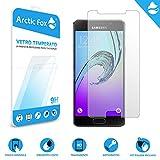 Arctic Fox 3X Gehärtetem glas displayschutzfolie glas transparent schützen hd display härte 9H anti scratch Für Samsung Galaxy A3 2016