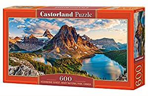 CASTORLAND Assiniboine Sunset, Banff National Park, Canada 600 pcs Puzzle - Rompecabezas (Banff National Park, Canada 600 pcs, Puzzle Rompecabezas, Paisaje, Niños, Niño/niña, 9 año(s), Interior)