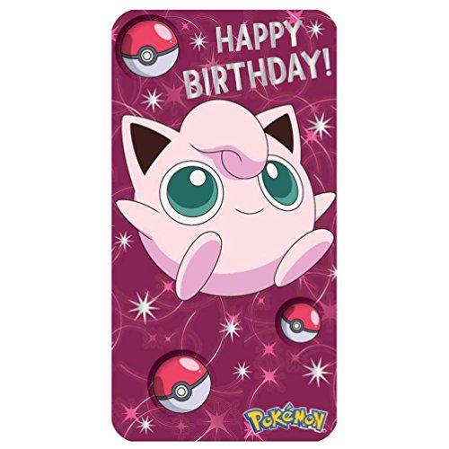 Pokemon-Geburtstagskarte.