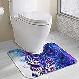Hoklcvd Tappetino da Bagno Contorno Antiscivolo per Gufo Galaxy Water per WC Acqua Assorbente Ideale per Il Bagno Acquista tappetini da Bagno Online ai Migliori Prezzi
