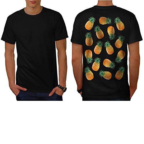 pineapple-fruit-bowl-summer-fun-men-new-black-m-t-shirt-back-wellcoda