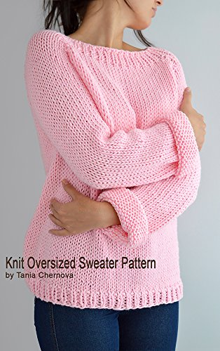 891a3bd13 Fairy Kei Sweater Pattern Oversized Sweater Pattern Easy Knit Sweater Knit  Raglan Knit Pullover Knit Jumper