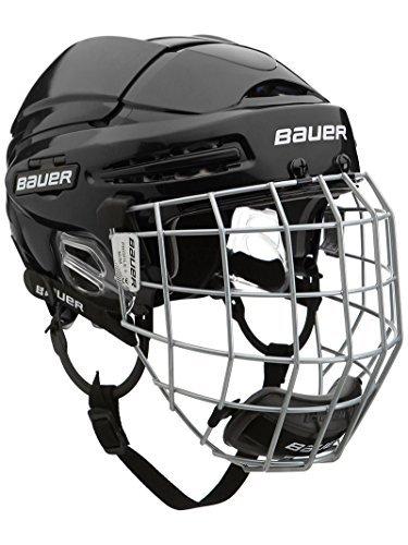 Bauer Eishockey Helm 5100Combo Senior Medium schwarz - schwarz -