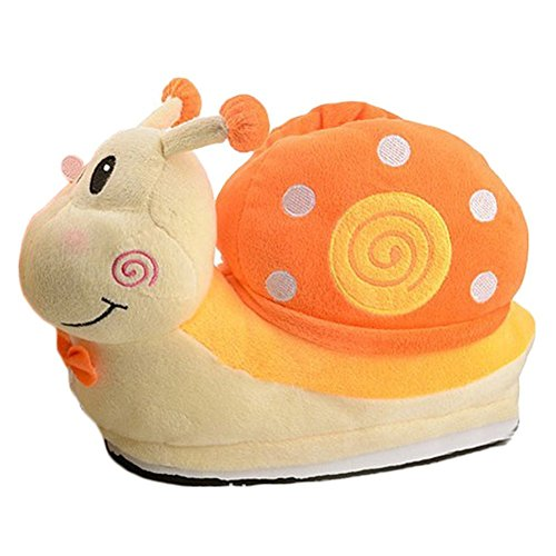 LATH.PIN Animale Cosplay Zampa Artigli Scarpe Halloween Costume Peluche pantofole 07Orange