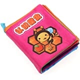 Baby Soft Cloth Book Intelligence Development Cloth Book Toys (Insects)