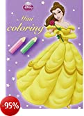 Disney Mini Coloring Prinsessen (4t) (toonbankdisplay) / Disney Mini Coloring Princesse (4t) (display comptoir)