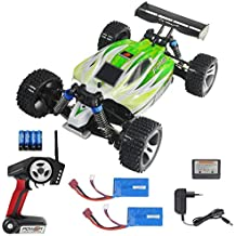 RC 2.4G Truggy Buggy Elektro Auto Ferngesteuert 1:18 Tuning Upgrade mit 2x Akku Ferngesteuertes