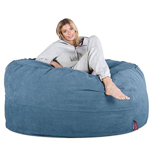 Lounge Pug®, Puff Gigante, C1000L, CloudSac Viscoelástico, Tejido de