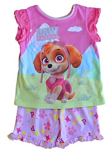 Preisvergleich Produktbild ThePyjamaFactory Mädchen Schlafanzug rosa rose Gr. 6-7 Jahre,  rose