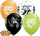 Star Wars Alles Gute Zum Geburtstag 27.9cm Qualatex Latexballons x 10