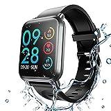 HopoFit Fitness Tracker HR,Smartwatch con Contador de Calorías,Podómetro, HF02 Rastreador de Actividad de Camuflaje con Monitor de Ritmo cardíaco y sueño,IP68 W/P,Hombres,Mujeres,iPhone y Android