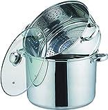Kamberg 0008059 - Olla para cocinar al vapor (3 en 1