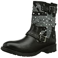 Pepe Jeans Womens Pimlico Flag Biker Boots