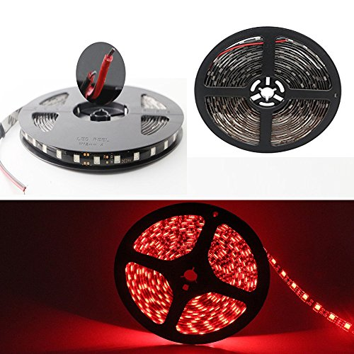 Preisvergleich Produktbild Grandview 24 V DC flexibles LED-Band (Beleuchtungs-Streifen),  5 m,  300 Einheiten,  5050 LEDs