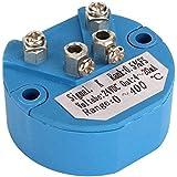 Owfeel DC24V tipo K sensores de temperatura transmisor 0a 400° Azul