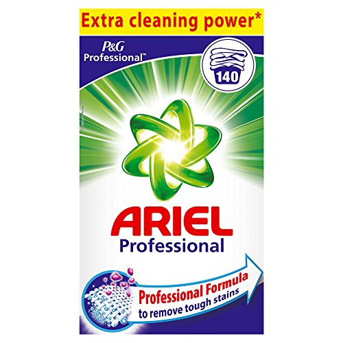 Professional Ariel Vollwaschmittel Regulär Pulver 9,1kg, 140Waschladungen