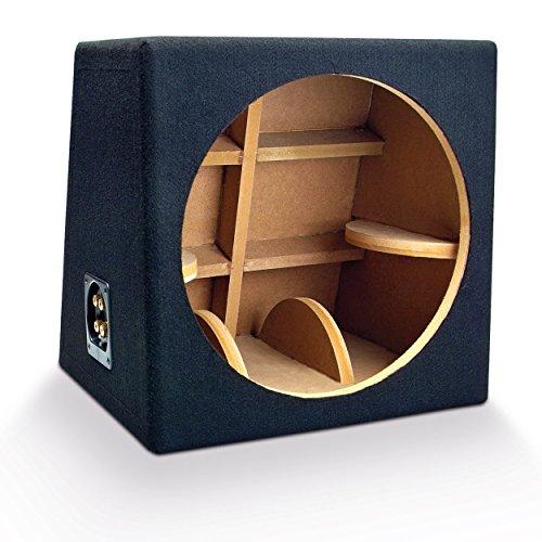 SinusLive 38cm schwarz MDF Lautsprecher stehen–Lautsprecher Klammern (MDF, schwarz, 430, 430mm) - Mdf-computer